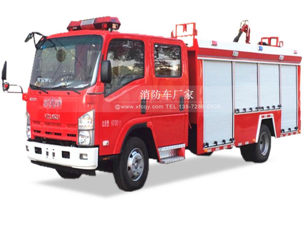 五十铃5吨泡沫消防车