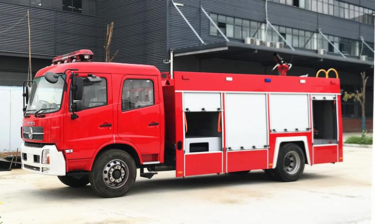 【泡沫消防车】泡沫消防车的正确操作方法与检查注意事项
