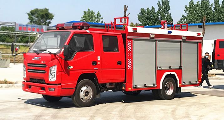 专业消防车的详细分类与用途功能介绍【多图】