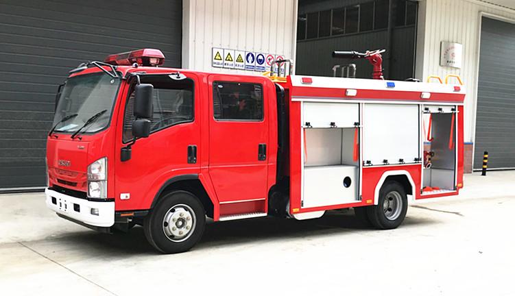 【国六】五十铃3.5吨小型消防车优点与好处专业详解