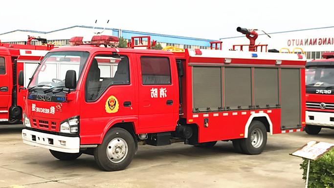 国六五十铃3吨消防车价格多少钱,参数与配置介绍【生产厂家】