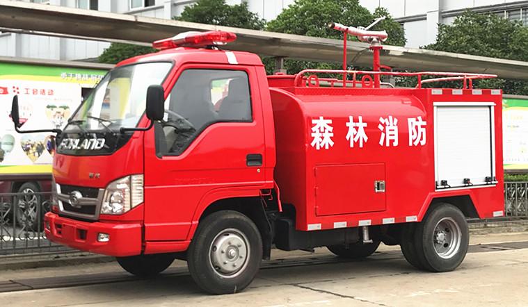 小型乡镇消防车:东风福田小型乡镇消防车厂家介绍【热销车型】