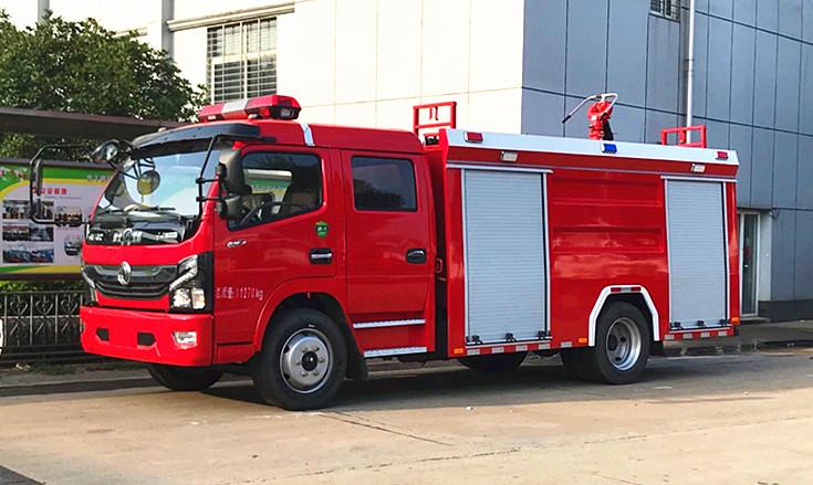 5吨泡沫消防车:东风大多利卡5吨泡沫消防车【厂家实测参数】