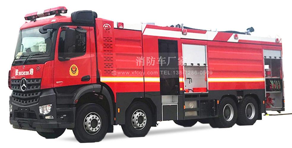 水罐消防车生产厂家:水罐消防车图片【高清实图】