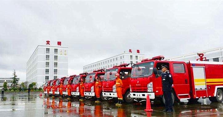 贵州消防车用户:贵州长安监狱订购8台五十铃水罐消防车【附交车图】