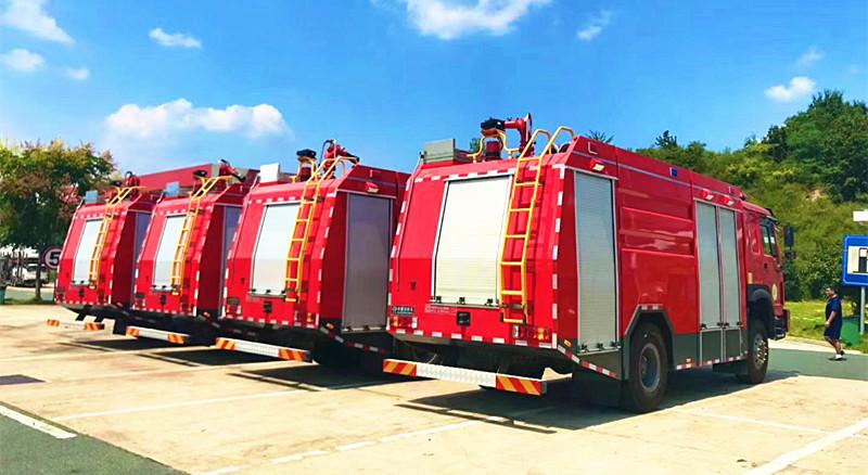 四驱森林消防车:重汽豪沃四驱森林消防车【免费报价】