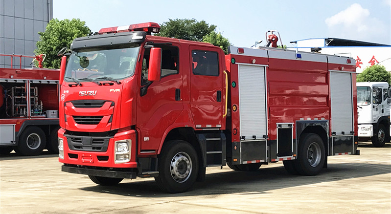 JDF5172GXFPM60/Q6新款五十铃巨咖泡沫消防车公告上市