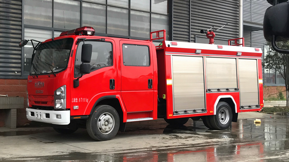 5吨消防车多少钱一辆
