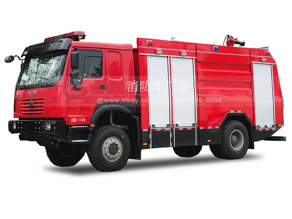 重汽豪沃四驱6吨森林万博客户端官网下载