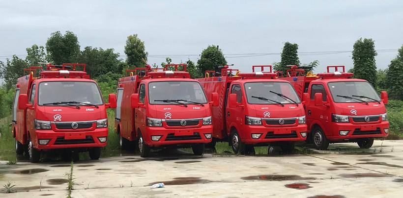 乡镇消防队消防车与装备配备数量标准