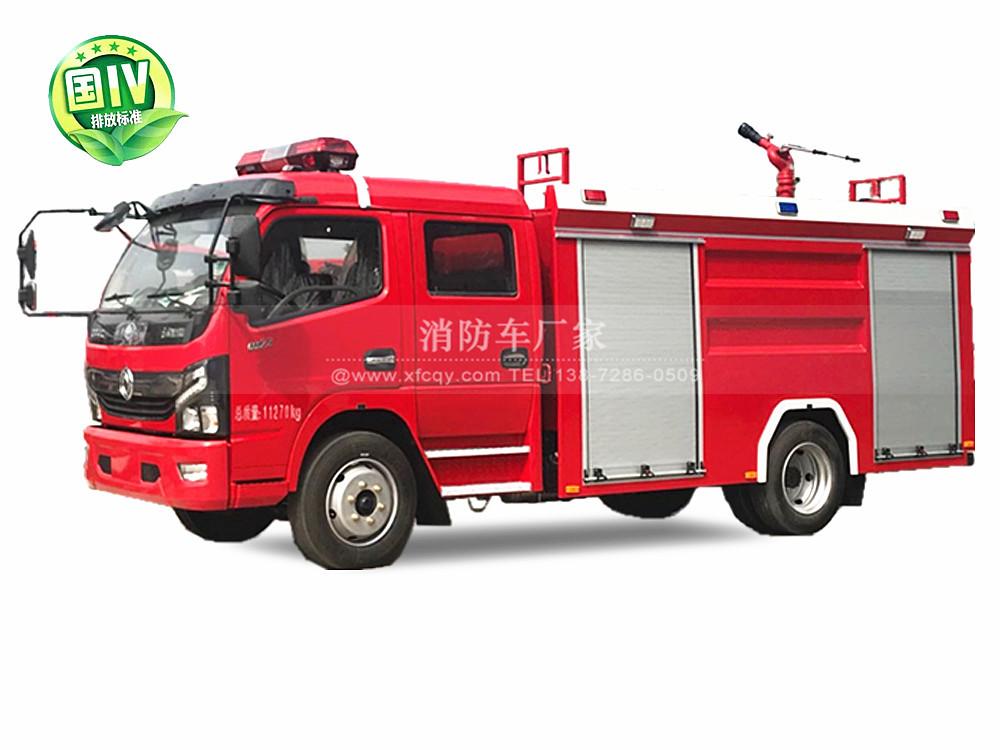 东风多利卡5吨水罐消防车