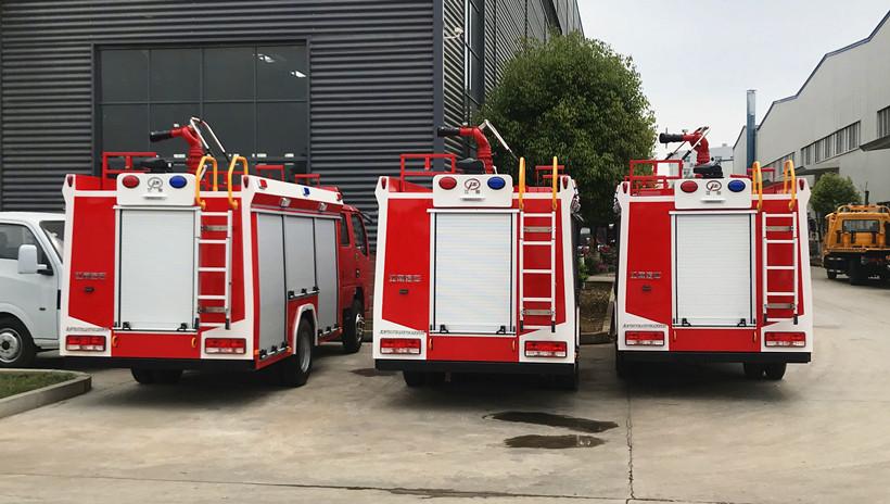 可以上北京牌照的消防车有哪些?